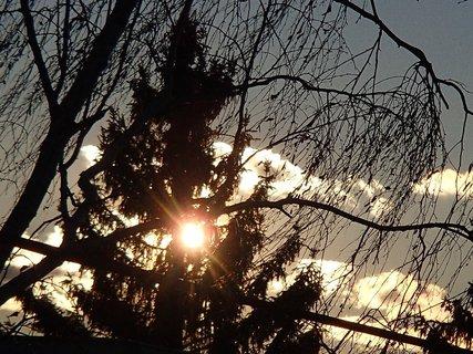 FOTKA - slnko začalo pomaly zapadať