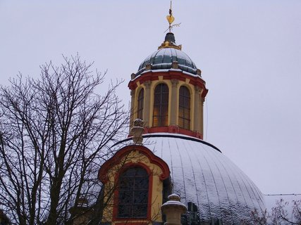 FOTKA - 17.1.2013, kopule kostela..
