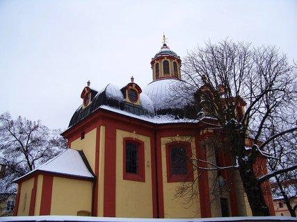 FOTKA - 17.1.2013, kostel Sv. Jakuba, Kunratice