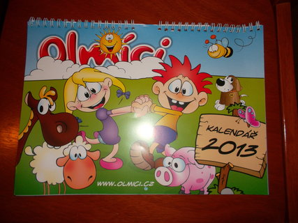 FOTKA - Nástěnný kalendář 2013