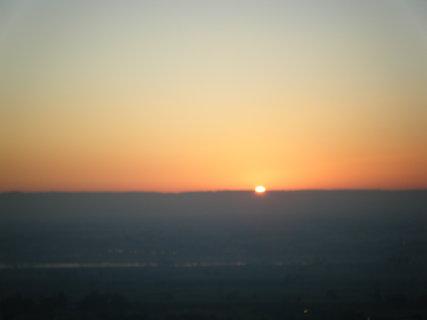 FOTKA - Východ slunce z balónu
