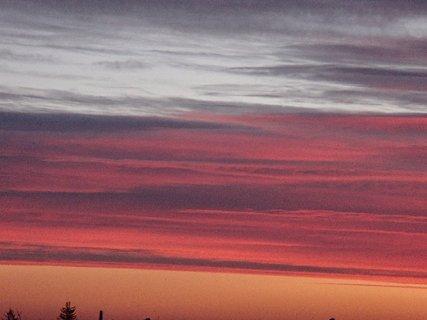 FOTKA - obloha hrala všetkymi farbami