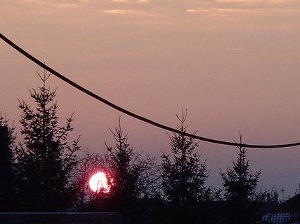 FOTKA - západ slnka 26.1.2013 a