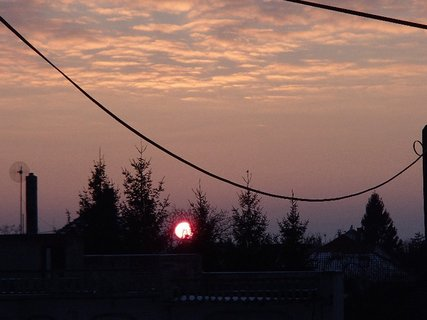 FOTKA - západ slnka 26.1.2013 b
