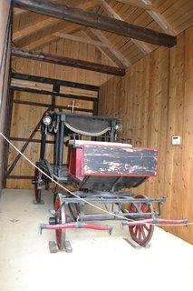 FOTKA - Přístřešek na pohřební vůz furgon