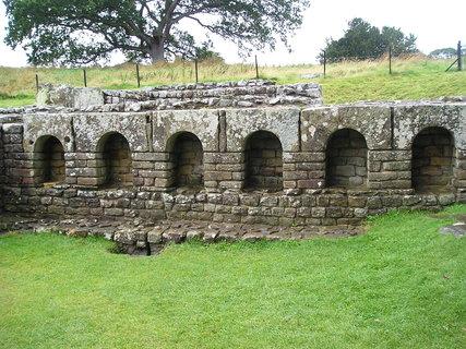 FOTKA - Hadriánův val, Skotsko 1.
