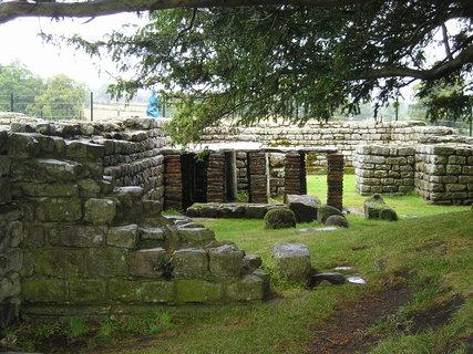 FOTKA - Hadriánův val, Skotsko 2.