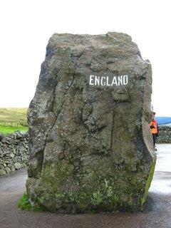 FOTKA - hraniční kámen Anglie