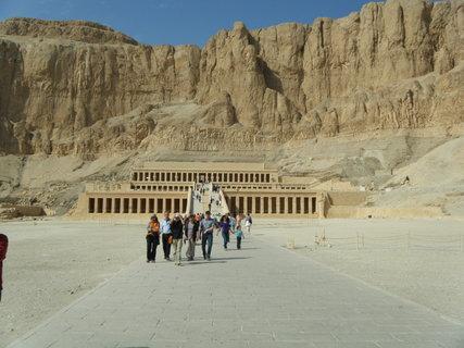 FOTKA - chrám královny Hatšepsut