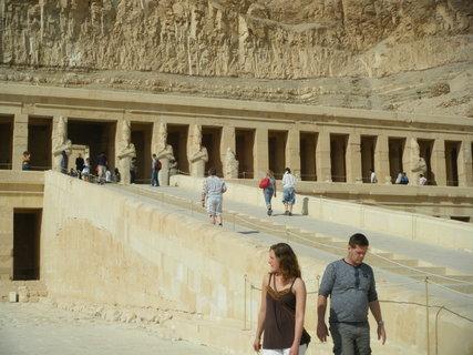 FOTKA - chrám královny Hatšepsut 3