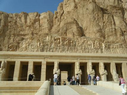 FOTKA - chrám královny Hatšepsut 7