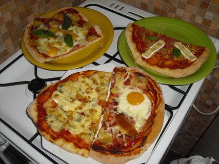 FOTKA - pizza - různé druhy