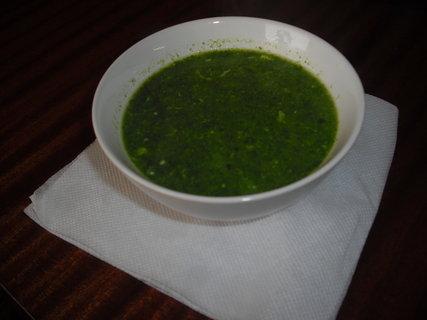 FOTKA - špenátová polévka