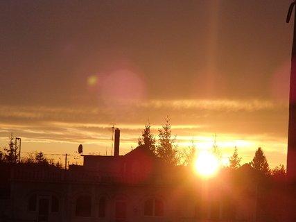 FOTKA - západ slnka 31.1.2013