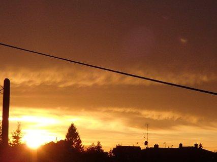 FOTKA - západ slnka 31.1.2013 b