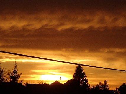 FOTKA - západ slnka 31.1.2013 c