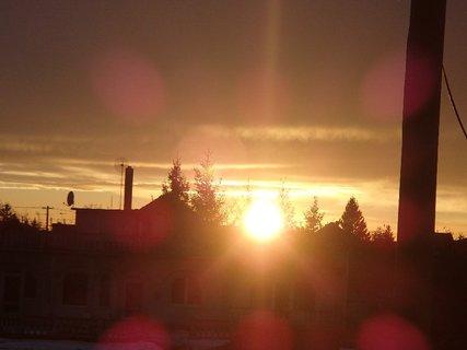 FOTKA - západ slnka 31.1.2013 d