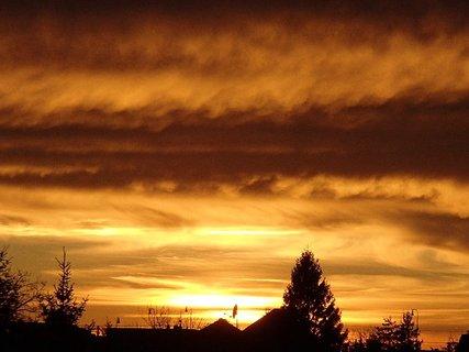 FOTKA - západ slnka 31.1.2013 e