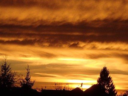 FOTKA - západ slnka 31.1.2013 g