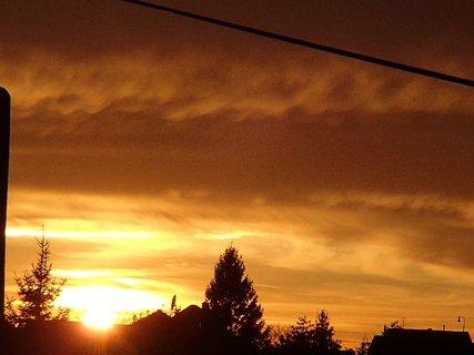FOTKA - západ slnka 31.1.2013 i