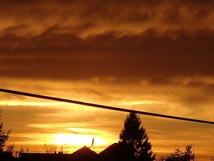 FOTKA - západ slnka 31.1.2013 j