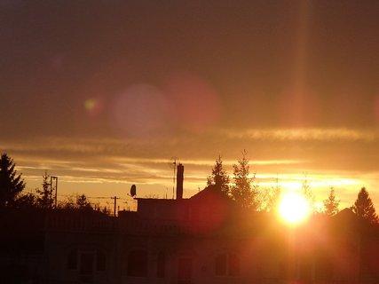 FOTKA - západ slnka 31.1.2013 l
