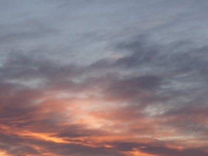 FOTKA - obloha dnes ráno 1.2.2013a