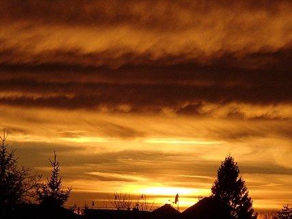FOTKA - západ slnka 31.1.2013b