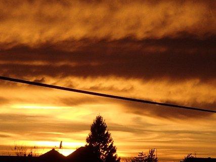 FOTKA - západ slnka 31.1.2013c