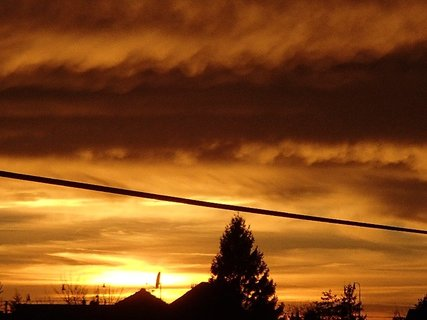 FOTKA - západ slnka 31.1.2013d