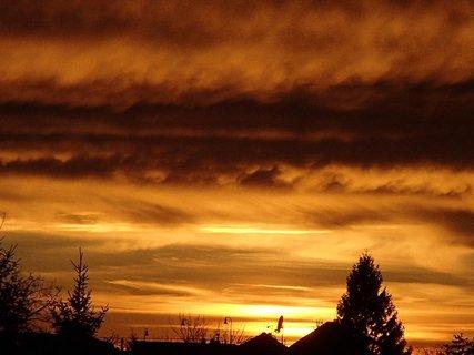 FOTKA - západ slnka 31.1.2013e