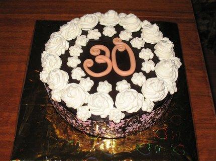 FOTKA - Pařížský dort k narozeninám