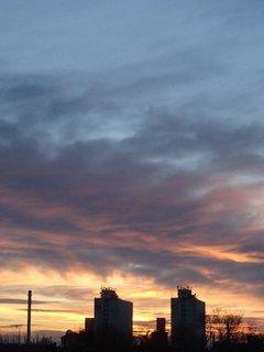 FOTKA - obloha dnes ráno 4.2.2013