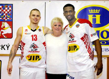 FOTKA - Hráči BC Pardubice