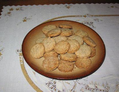 FOTKA - Křupavé sušenky z ovesných vloček