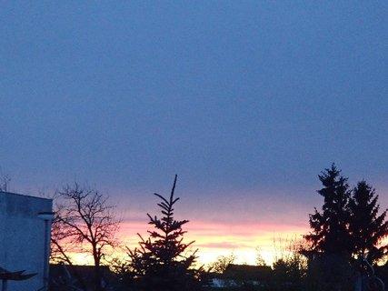 FOTKA - obloha dnes ráno 7.2.2013