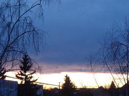FOTKA - obloha dnes ráno 7.2.2013a