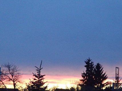 FOTKA - obloha dnes ráno 7.2.2013b