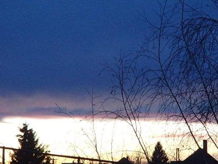 FOTKA - obloha dnes ráno 7.2.2013c
