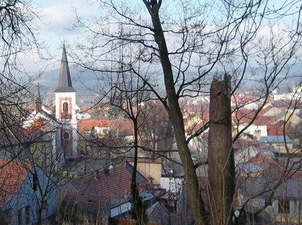 FOTKA - Rájec - Jestřebí,pohled ze zámeckého parku