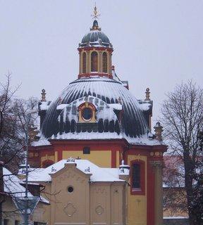 FOTKA - 12.2.2013, kunratický kostel Sv. Jakuba