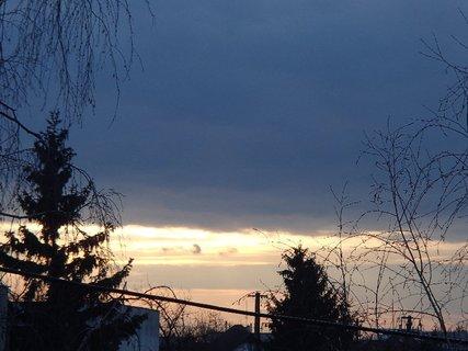 FOTKA - obloha ráno 09.02.2013