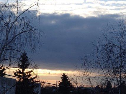 FOTKA - obloha ráno 09.02.2013a