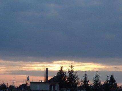 FOTKA - obloha ráno 09.02.2013c