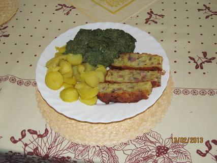 FOTKA - Špenát, brambor a nádivka