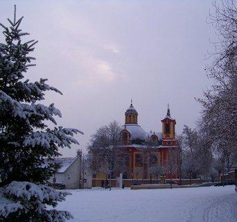 FOTKA - 16.2.2013, kunratický kostel