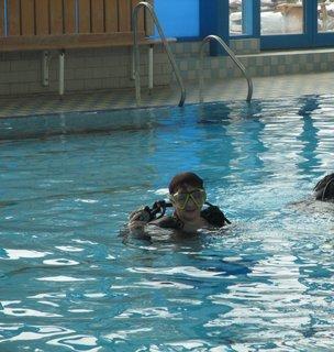 FOTKA - dnešní potápění