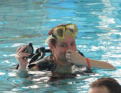 FOTKA - dnešní potápění 2