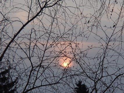 FOTKA - slnko postupne zapadalo