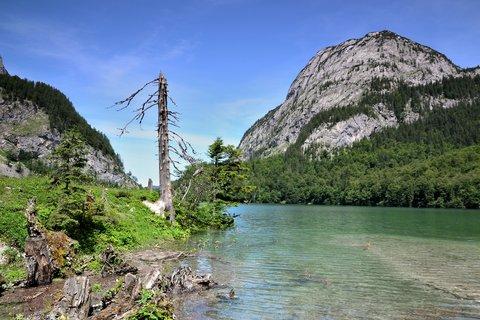 FOTKA - Gosau, horní jezero